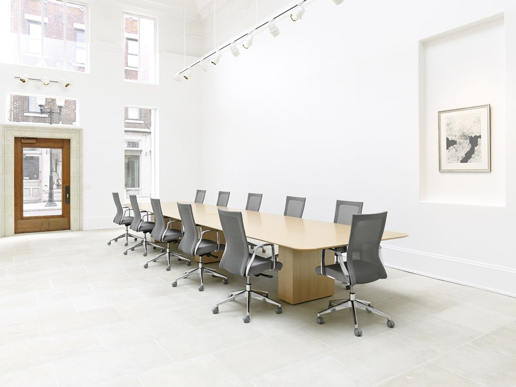Foot Long Conference Table In Rift Oak With Rectangle Bases And - 20 foot conference table