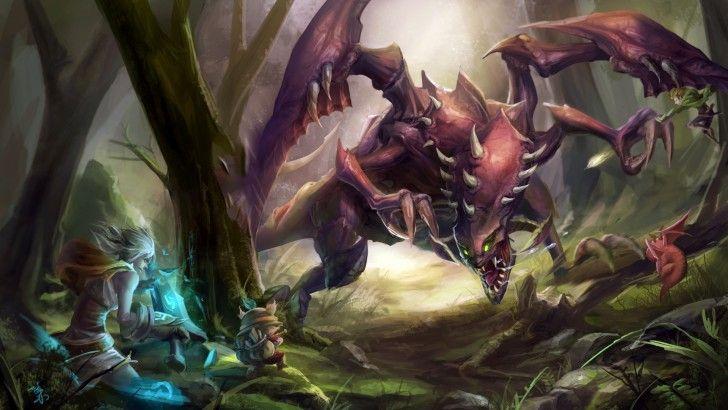 Riven Teemo Vs Chogath 7d Monsters Pinterest League Of Legends