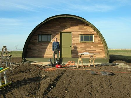 atten hut reviving wwii quonset huts military trader. Black Bedroom Furniture Sets. Home Design Ideas