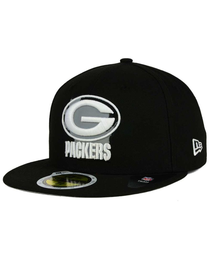 9f4294637ad93 New Era Green Bay Packers State Flective Redux 59FIFTY Cap ...
