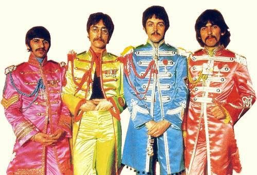 Sgt Pepper S Lonely Hearts Club Band Photoshoot