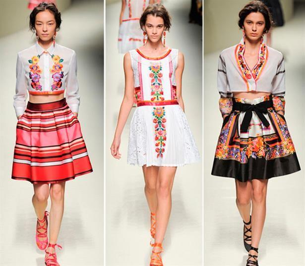 Современные свадебные платья-вышиванки в украинском стиле ...