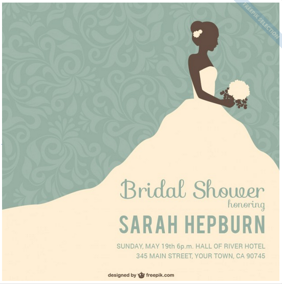 Bridal Shower Template Enchanting 25 Amazing Wedding Shower Template Psd  Amazing Wedding Shower .