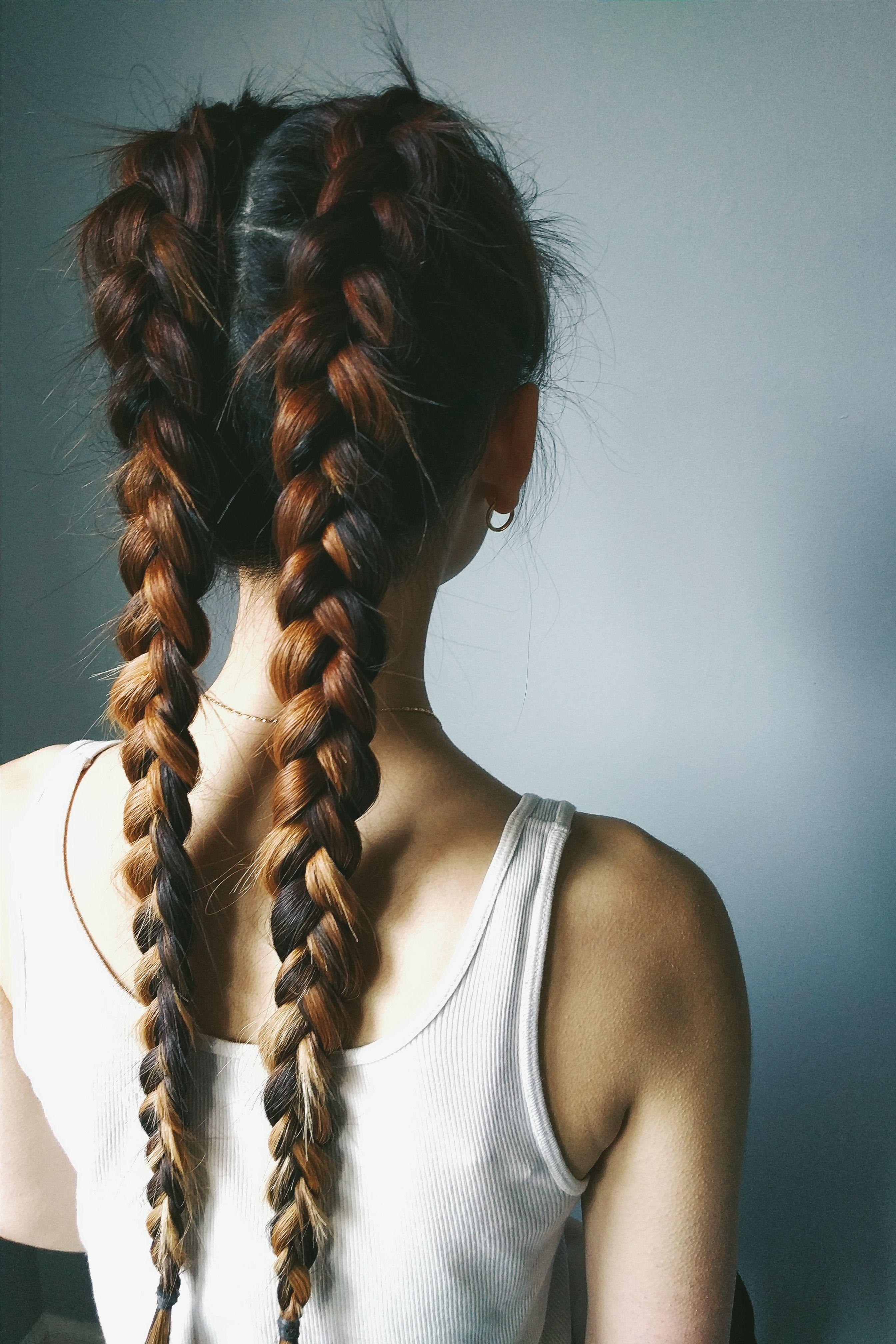 double dutch boxer braids // | hair | pinterest | boxer braids
