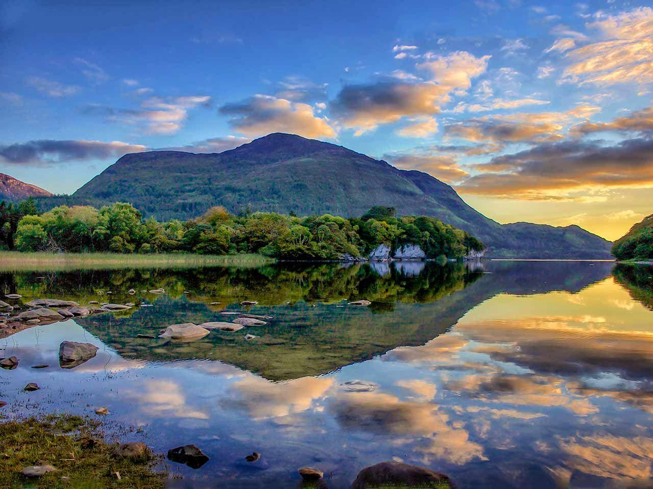 Lakes Of Killarney Irland Landschaft Irland Landschaft