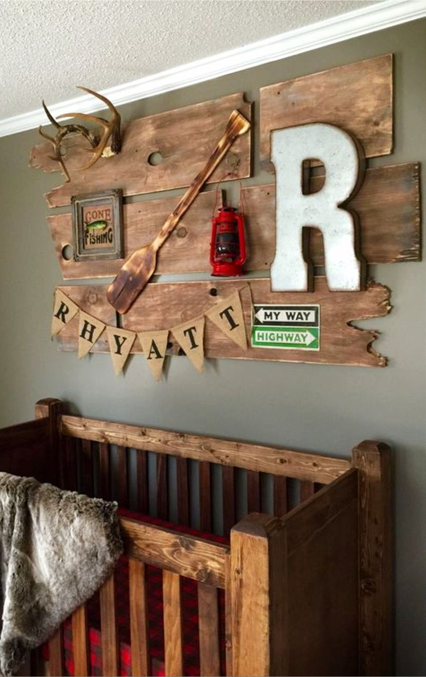 Rustic Baby Boy Nursery Themes PICTURES & Nursery Decor