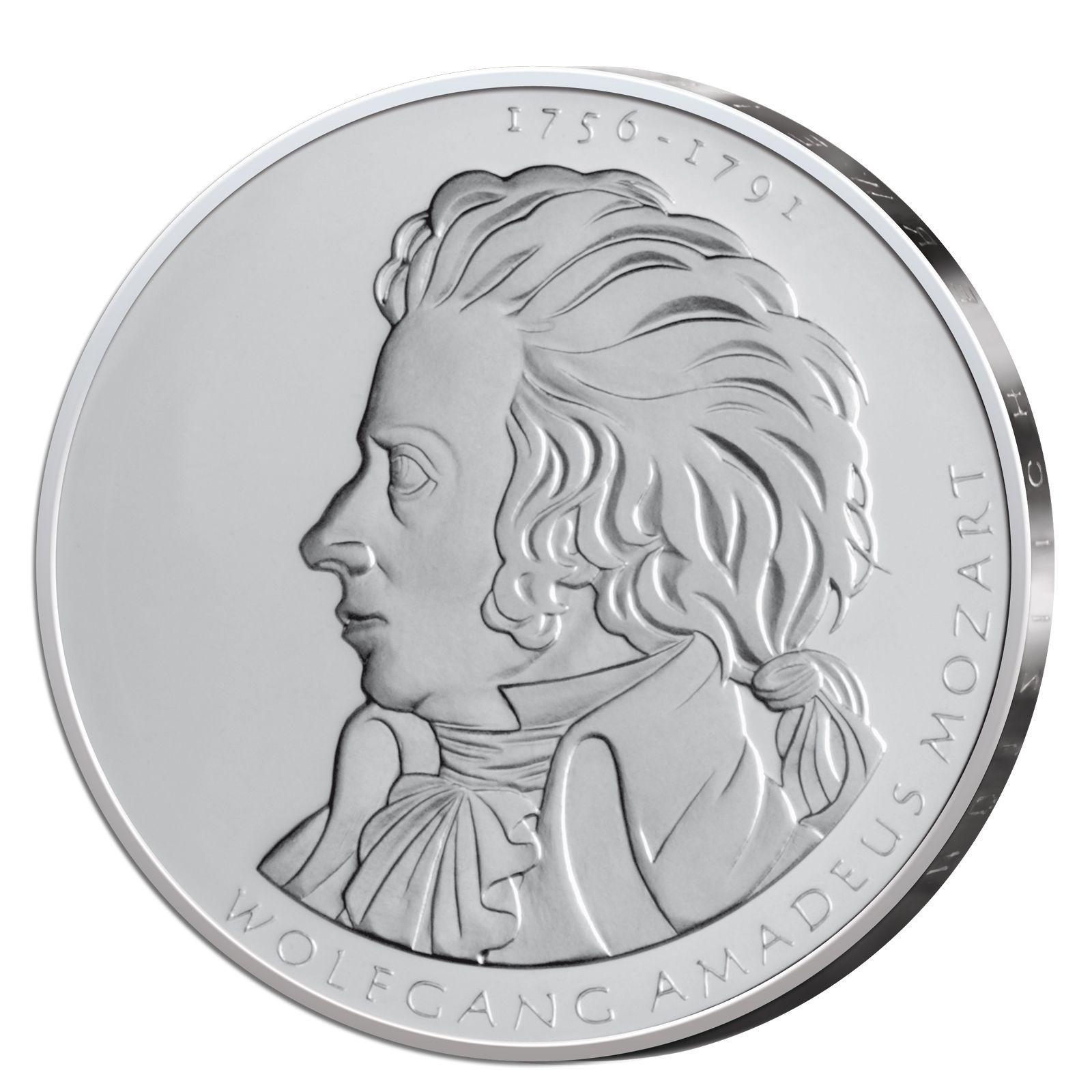 Details Zu Silbermünze Brd 10 Euro 2006 Wolfgang Amadeaus Mozart