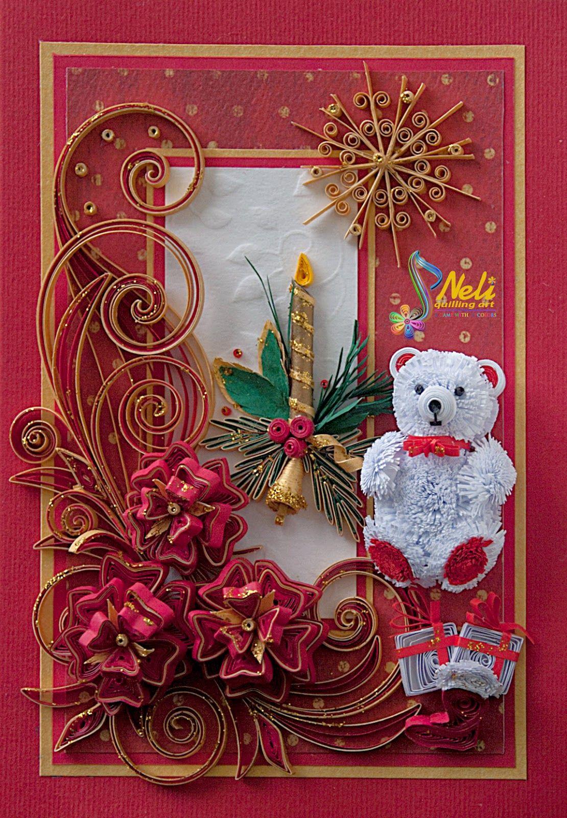 Neli quilling art preparation for christmas 11 2015 neli quilling art preparation for christmas 11 2015 m4hsunfo