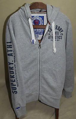 SUPERDRY STATE ATHL rare HOODIE cotton sz XL jumper logo EX LARGE hood BIG LOGO https://t.co/TxlxGlY0z9 https://t.co/qDhOjx2c8h