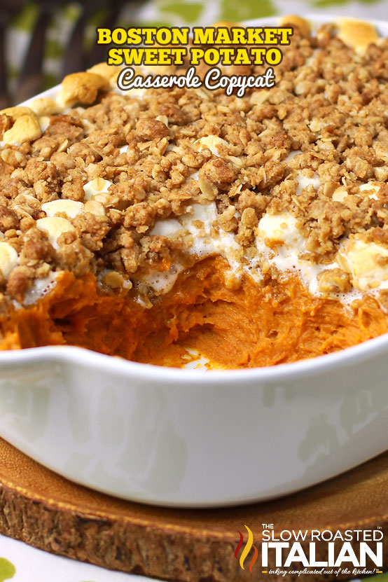Sweet Potato Casserole Boston Market Copycat (With Video)