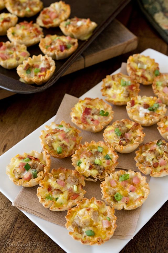Photo of Meat Lovers Mini Quiche – Barbara Bakes™