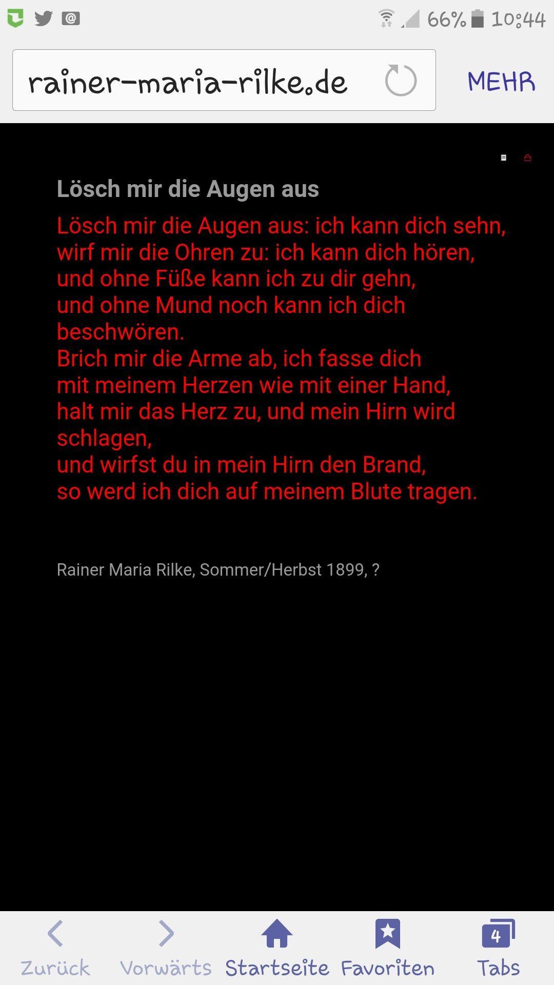 Pin Von Elvira Auf Gedichte Und Zitate Grosser Meister
