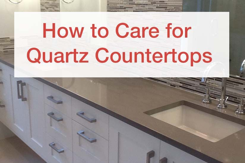 Quartz Countertops To Care For Quartz Countertops And Other