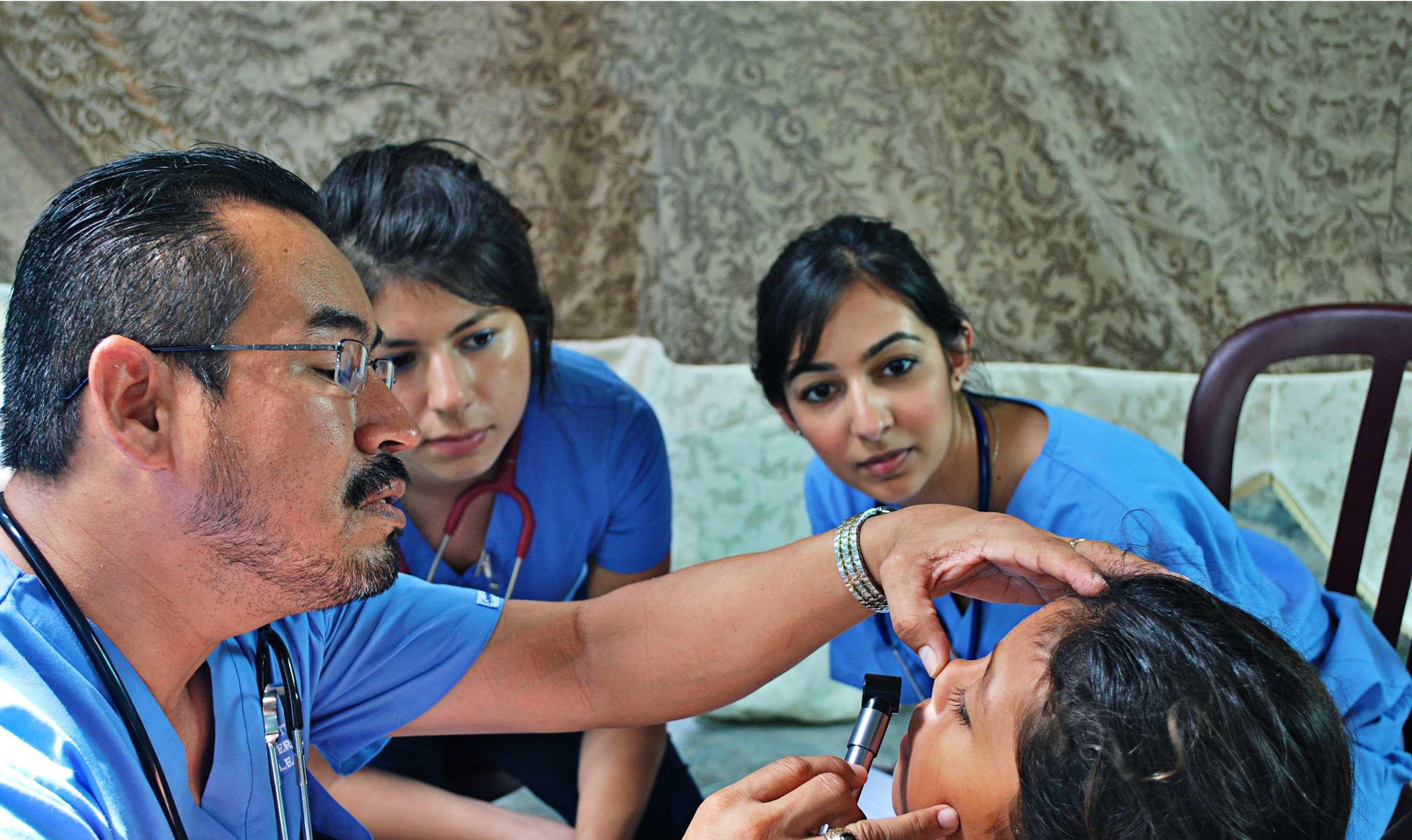 Belize international service learning online medical