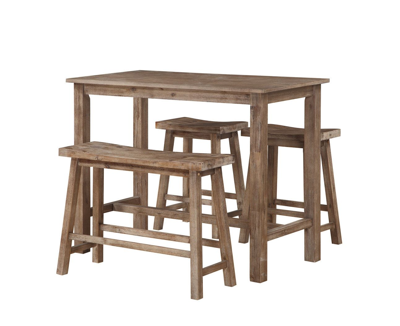 Pleasant Raymundo 4 Piece Pub Table Set In 2019 Kitchen 2019 Pub Home Interior And Landscaping Dextoversignezvosmurscom