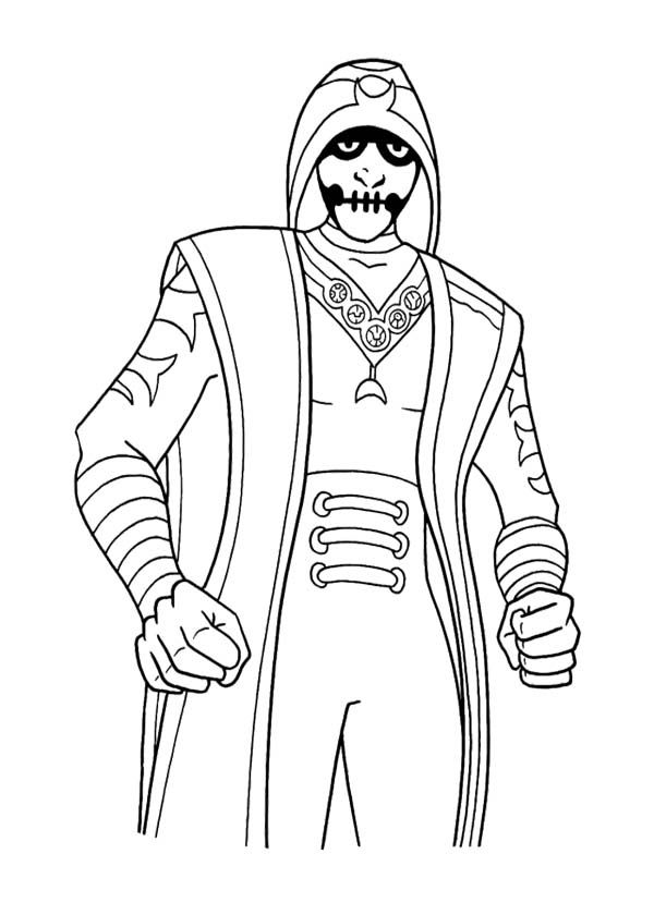 The Enemy Ben Tennyson Coloring Page Imagens