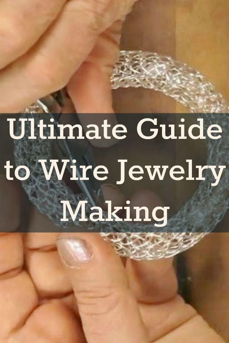 Read these 7 essential tips on how to make wire jewelry like a pro! #wirejewelry #diyjewelry #jewelrymaking