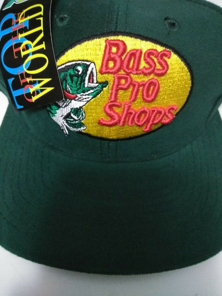 ae83b8f25f5 VINTAGE FISHING HAT - BASS PRO SHOPS SNAPBACK CAP  fashion  clothing  shoes   accessories  mensaccessories  hats (ebay link)