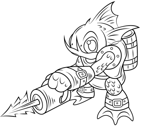 Click To See Printable Version Of Skylanders Gill Tegninger