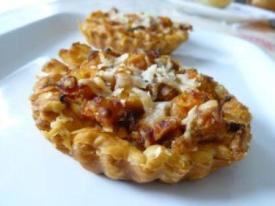 Apéritif, des idées d'amuse-bouche : tartelette carottes et parmesan, Recette Ptitchef