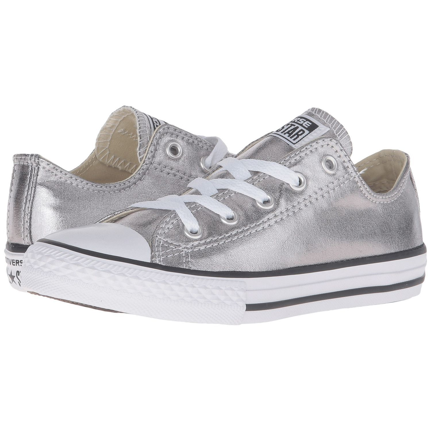 84702323a9bd CONVERSE Chuck Taylor Metallic Canvas Ox Kids Toddler
