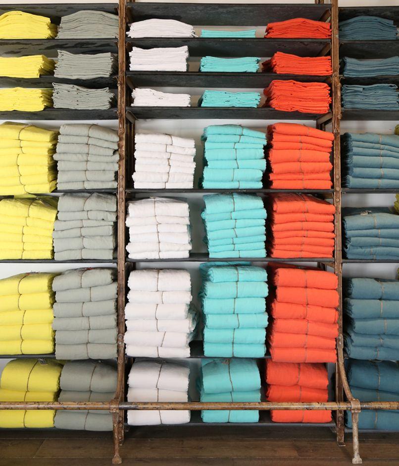 collection de draps en lin merci favorite places spaces. Black Bedroom Furniture Sets. Home Design Ideas