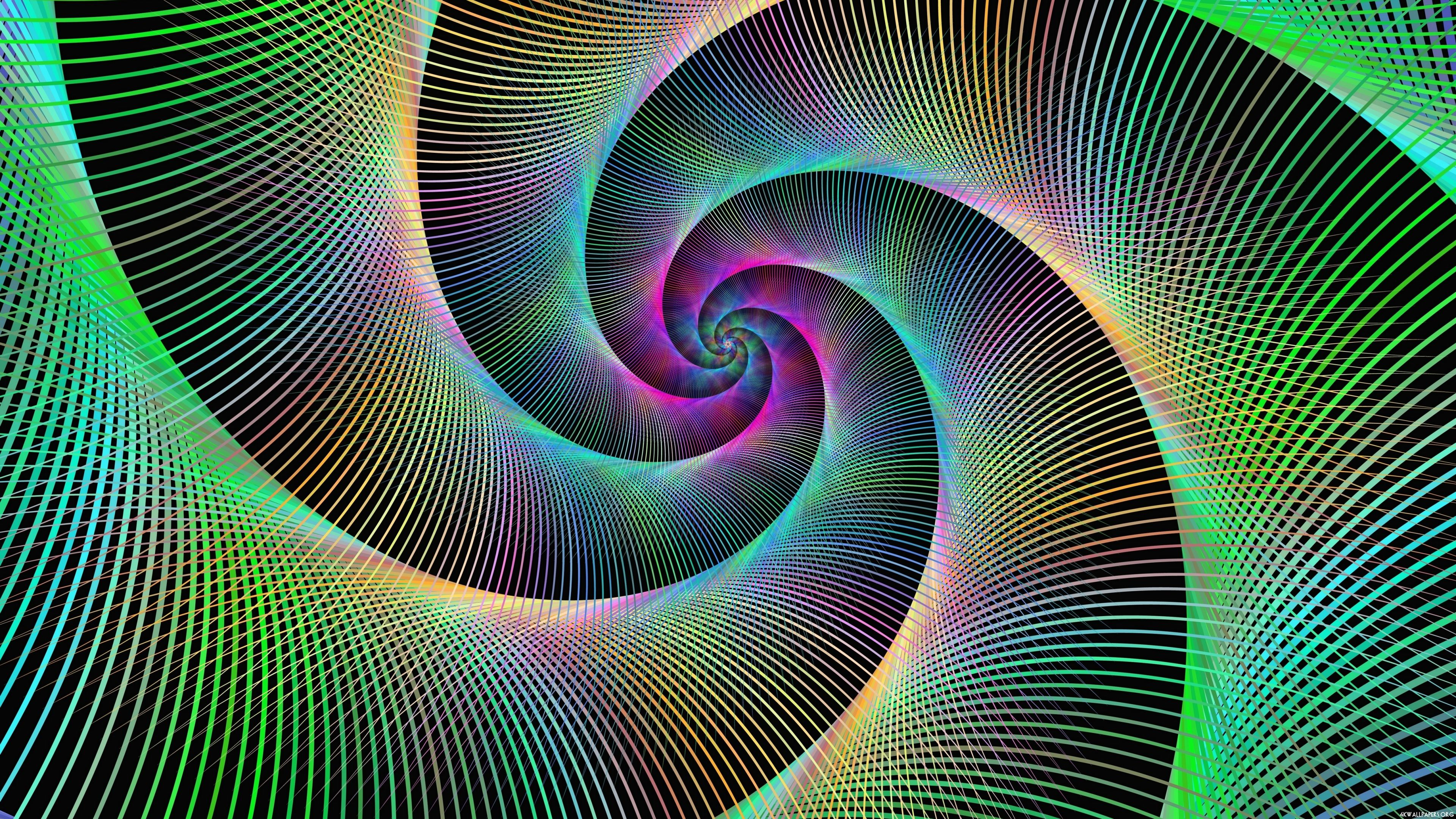 Trippy Fractal Wallpaper Patterns Abstract