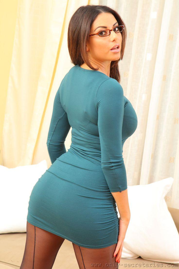 Tight dress - miniskirt - Curvy  d119e3ba6