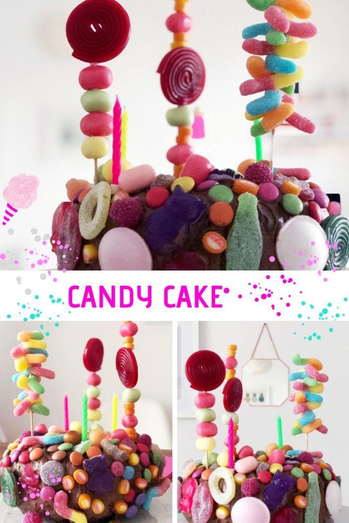 Photo of Candy Cake Torte: Bunter Geburtstagskuchen | MiniMenschlein.de ♡