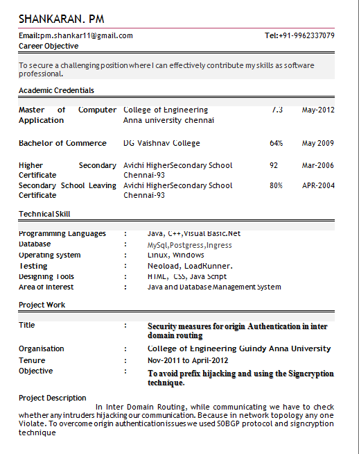 Download Resume Templates For Freshers  HttpWwwResumecareer