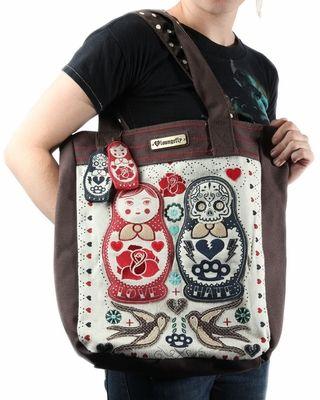 Loungefly Matroschka Nesting Dolls Tote Bag | Nesting ...