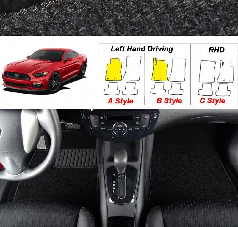 Perfect Fitted For Ford Mustang 2015 2017 High Quality Comfortable Auto Carpet Mats Anti Slip Car Floor Mats Vol Car Carpet Volkswagen Scirocco Car Floor Mats