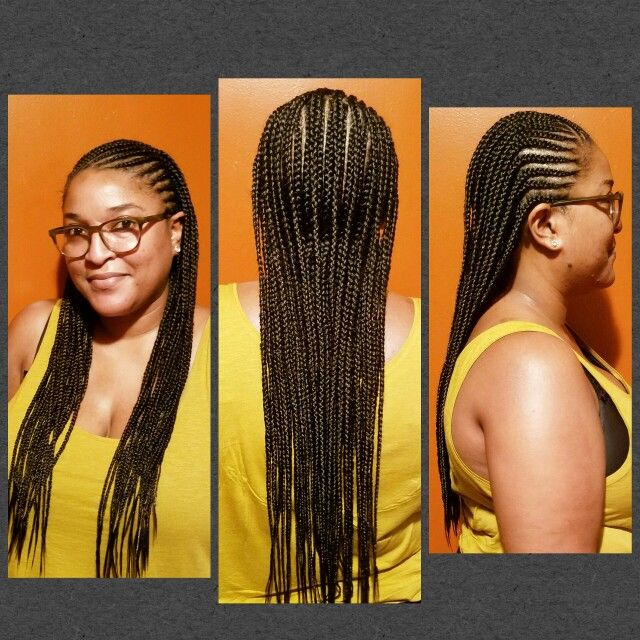 Two Layered Feed In Cornrows Naturaledgez Half Braided Hairstyles Hair Styles Braided Hairstyles