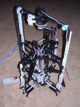 Lego Knitting Machine: What's Next? The Matrix?