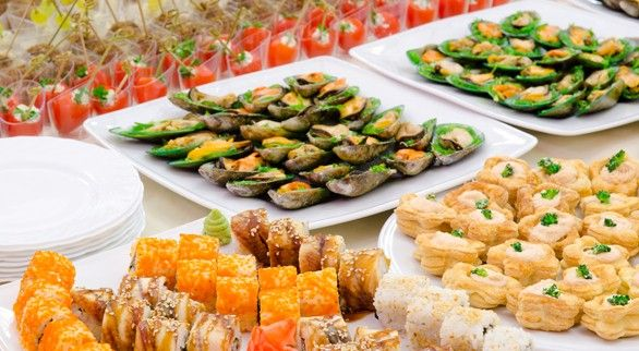 How to arrange an appetizer table appetizers table for Appetizers decoration