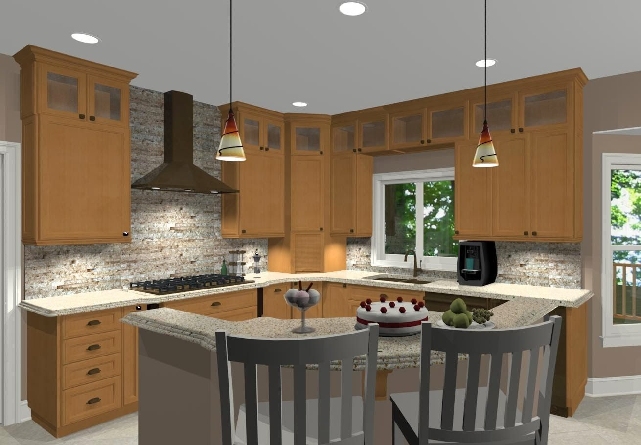 Lshapedislandkitchenideas 1310×910 Pixels  Kitchen Best L Shaped Kitchen Island Design Decoration