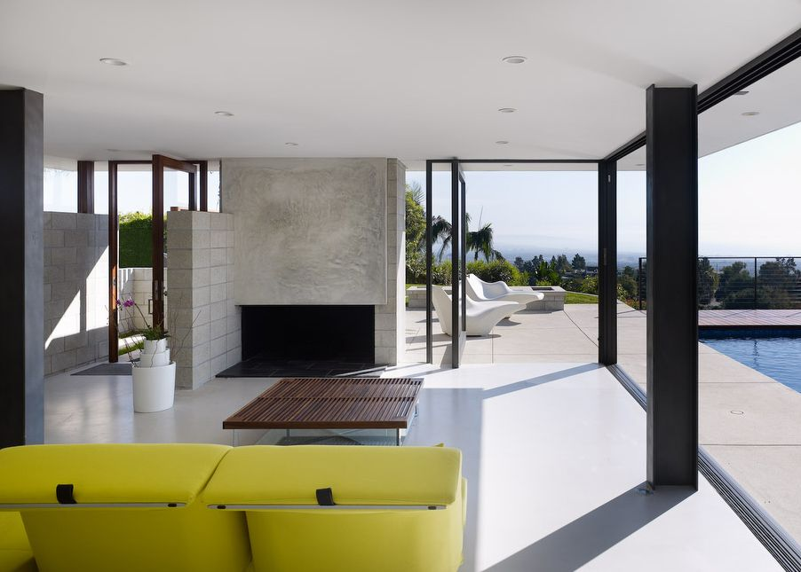 House design idea of Minimalist Modern House Plans By Bittoni Design  Studio- Absolutely Gorgeous colors