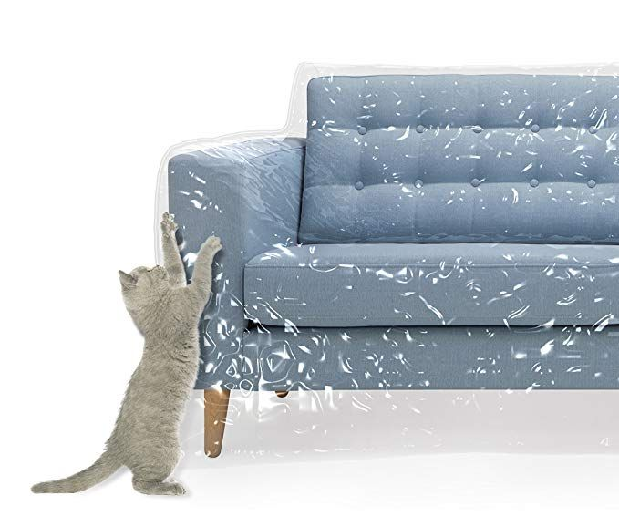 Plastic Couch Cover For Pets Cat Scratching Protector Clawing Deterrent Heavy Duty Water Resistant Thick Clear Vinyl Couch Covers Couch Slipcovered Sofa