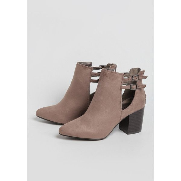 Ruche Chestnut Grove Ankle Boots ($49) ❤ liked on Polyvore