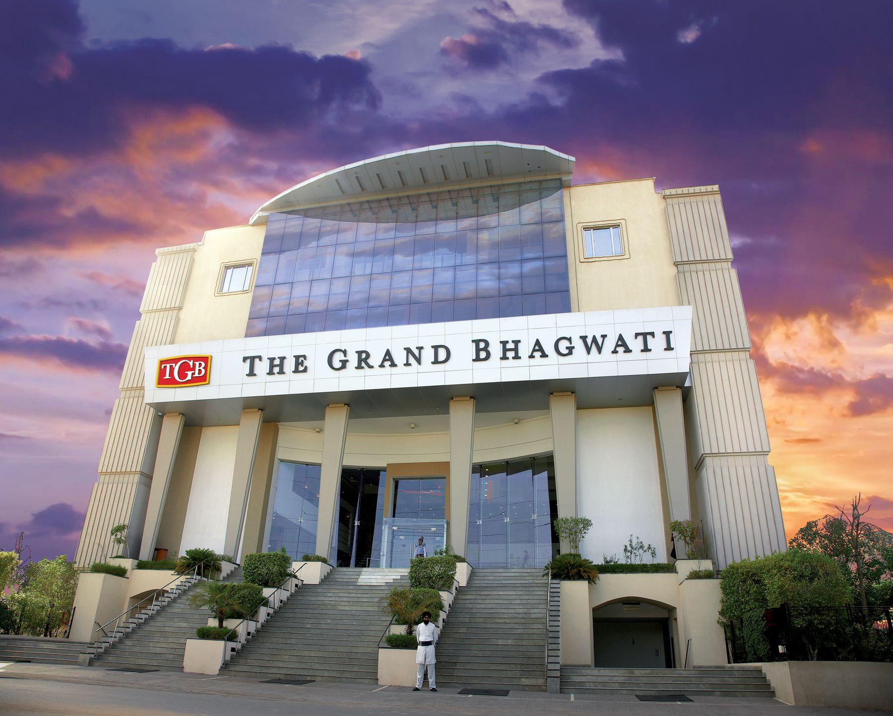The Main Entrance Tgb Ahmedabad Gujarat 5star Hotel