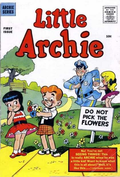 Little Archie Covers Old Comic Books Archie Comics Characters Vintage Comic Books