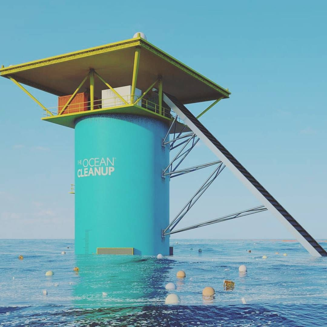 'The Ocean Cleanup is developing worlds first feasible method to rid the oceans of plastic. The Ocean Cleanups goal is to extract prevent and intercept plastic pollution by initiating the largest cleanup in history'. Founded by @boyanslat when he was just 19 keep an eye out this guy is going to change the world! @theoceancleanup Re-post by Hold With Hope