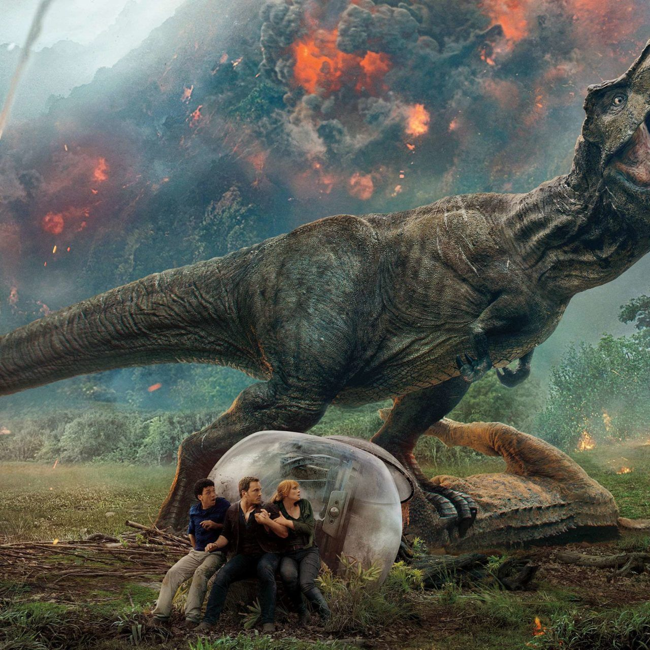Jurassic World Fallen Kingdom Desktop Background