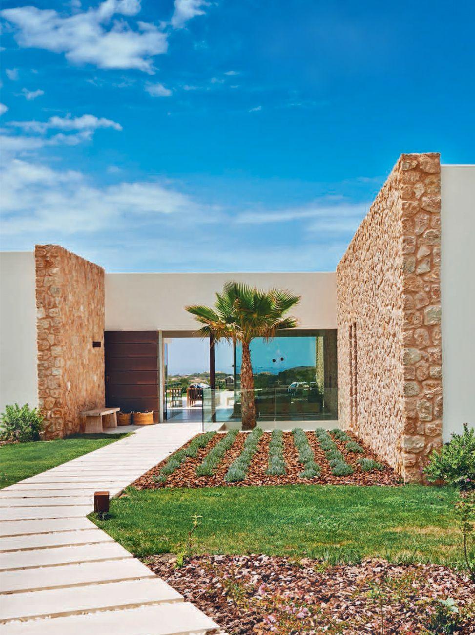 Cala Comte, Ibiza – Studio MILO | Paredes piedra | Pinterest | Piedra