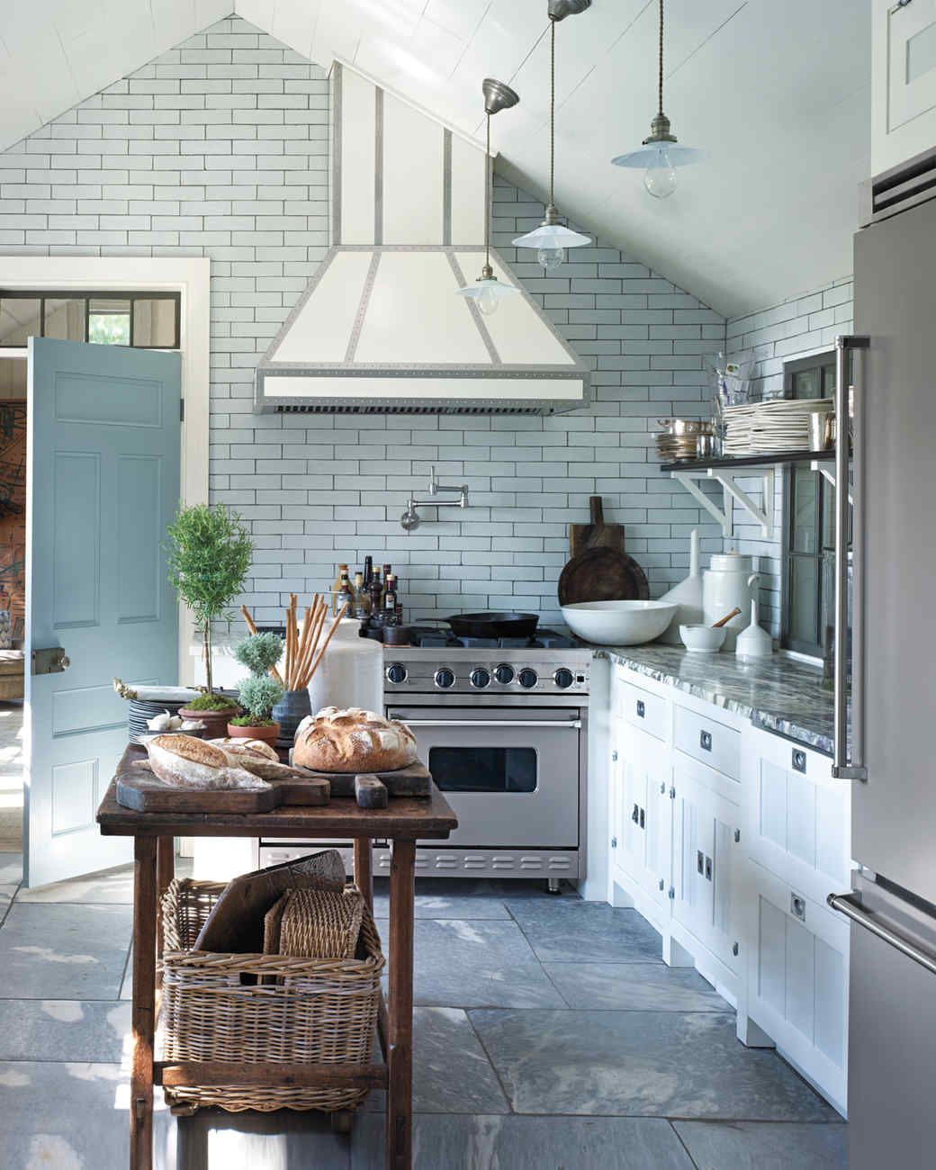 Kitchen Accents We Love | Martha stewart, Interior walls and Gambrel
