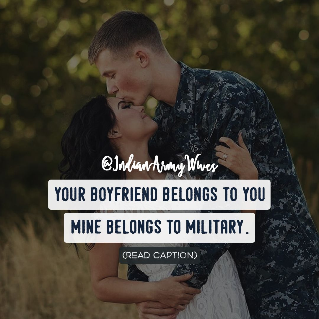 Army Girlfriend Porn Meme - Quotes for Indian Army Wives / Girlfriend – My hero doesn't wear a cape