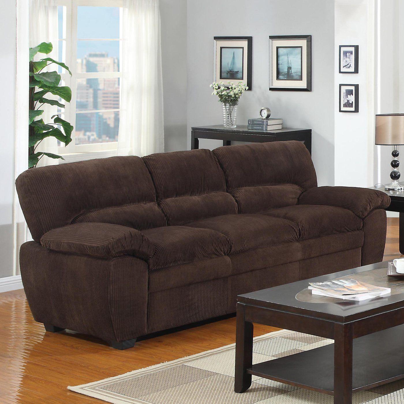 Home Decor Imports: Home Décor Import L2125-01 Full Length Sofa