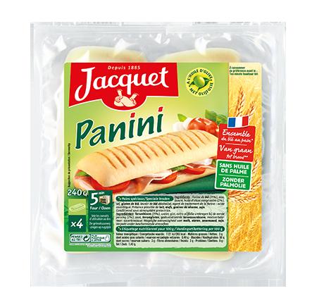 Pain pour panini jacquet