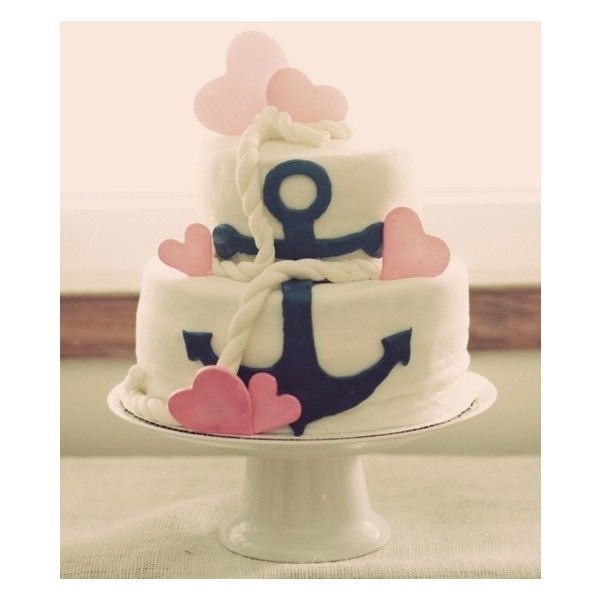 United States Navy Chiefs Anchor Cake Custom Cakes Virginia Beach Liked On Polyvore