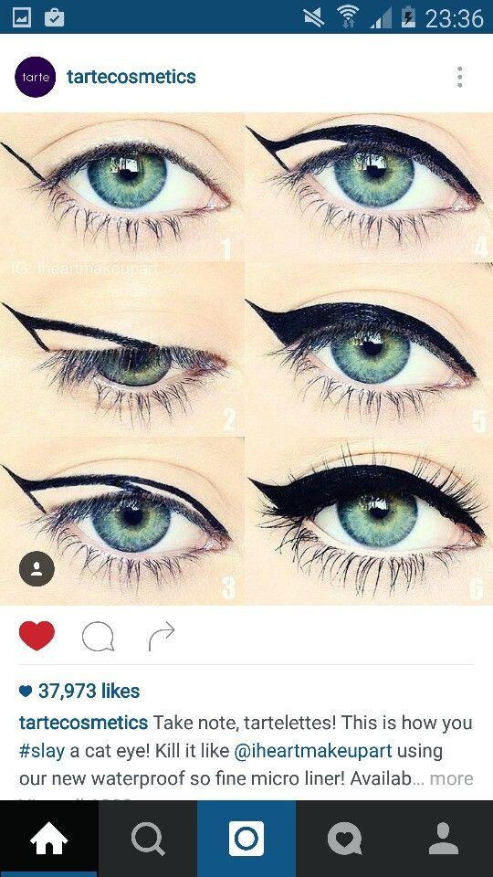 Cat Eye Diagram Makeup Eyeliner Perfect Makeup Eye Makeup
